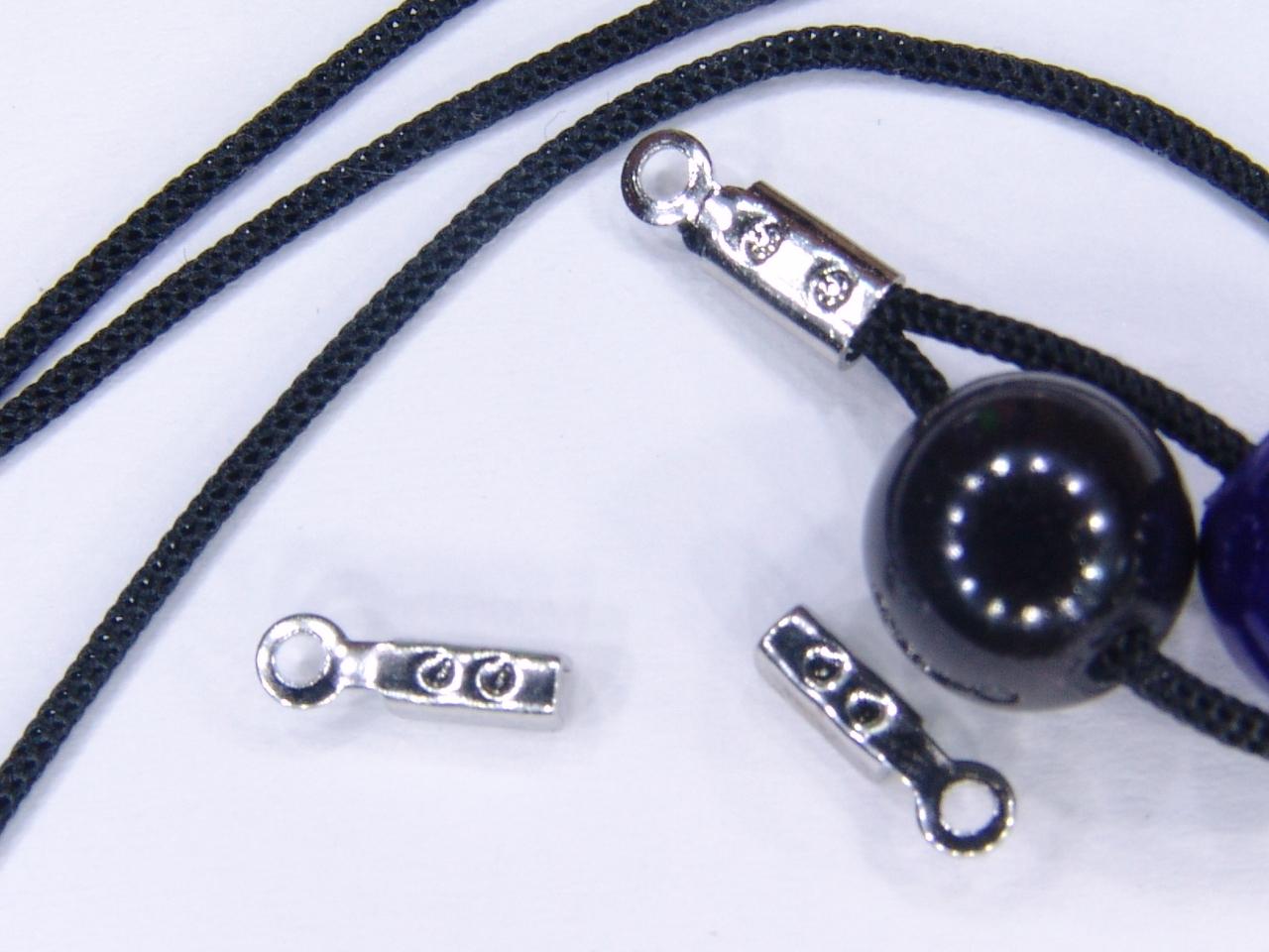 30 Quetschenden Endkappen z. Klemmen mini f.1mm Band /Draht kauf